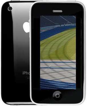 iPhone mit Fußball-Terminen der Bundesliga