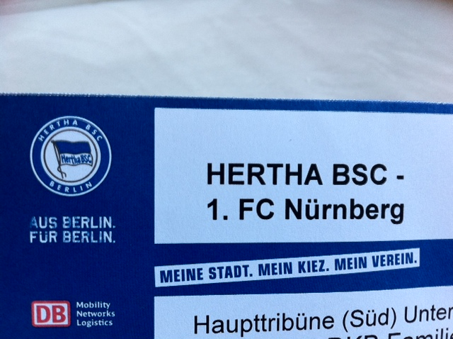 Spielplan Hertha BSC Berlin