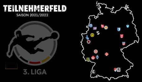Teilnehmer Mannschaften 3. liga 2021-2022