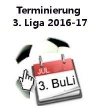 3. Liga Terminierung 2016-2017