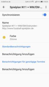 WM Kalender Android
