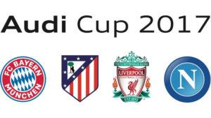 Audi Cup 2017 im TV